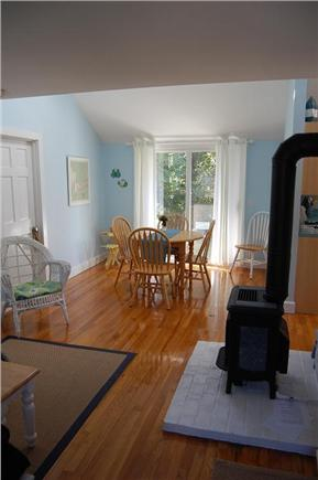 East Sandwich Cape Cod vacation rental - Dining / family Room