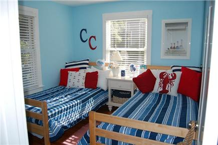 East Sandwich Cape Cod vacation rental - Bedroom with 2 twin beds