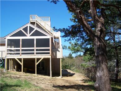 North Eastham Cape Cod vacation rental - Watch beautiful sunsets over the Bay from this perch