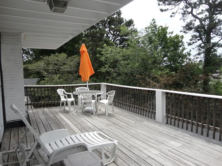 West Yarmouth Cape Cod vacation rental - Large deck