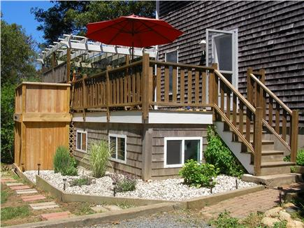 Brewster Cape Cod vacation rental - Deck and outdoor shower