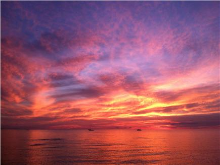 Brewster Cape Cod vacation rental - Sunset at Linnell Landing Beach just 2 miles away