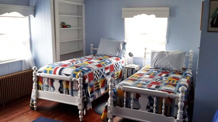 Yarmouth Cape Cod vacation rental - 2nd floor bedroom with twin beds
