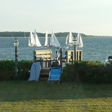 Yarmouth Cape Cod vacation rental - Watch the boats go by on the bay