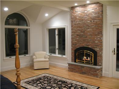 Kingston MA vacation rental - Inside enjoy the fire's glowing or outside the sea breeze blowing