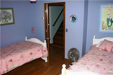 Brewster Cape Cod vacation rental - 2nd Floor Bedroom #3: outfitted with 2 twin beds