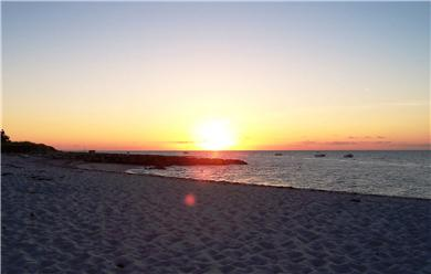 Brewster Cape Cod vacation rental - The picturesque sunset over the bay