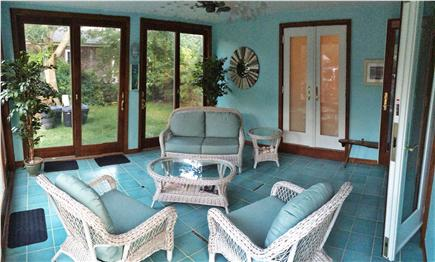 Brewster Cape Cod vacation rental - Sun Room for relaxing while kids play and/or watch TV