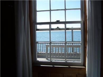 Truro Cape Cod vacation rental - Inside out.