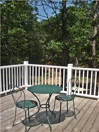 Wellfleet Cape Cod vacation rental - Upstairs Deck off Master