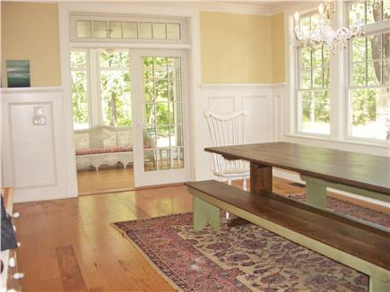 Wellfleet Cape Cod vacation rental - Dining Area to Screen Porch