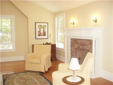 Wellfleet Cape Cod vacation rental - Upstairs Master Fireplace & Sitting Area
