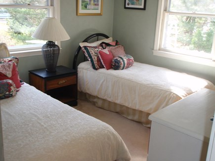 Brewster Cape Cod vacation rental - 3rd bedroom with 2 twins