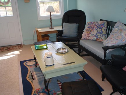 Brewster Cape Cod vacation rental - Lower Level Sitting Area