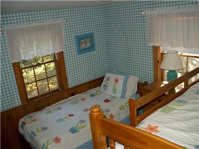 Chatham Cape Cod vacation rental - Bedroom 3 with bunkbed and twin