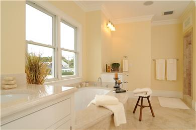 West Yarmouth Cape Cod vacation rental - Master Bathroom with Jacuzzi