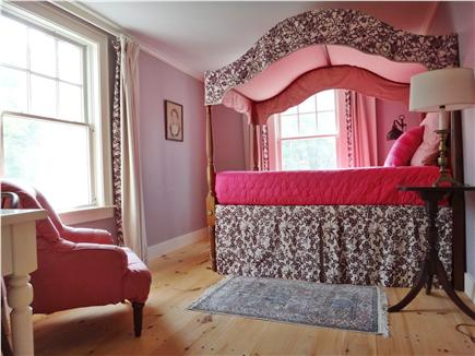 South Truro Cape Cod vacation rental - Guest room with queen-sized four-poster bed.