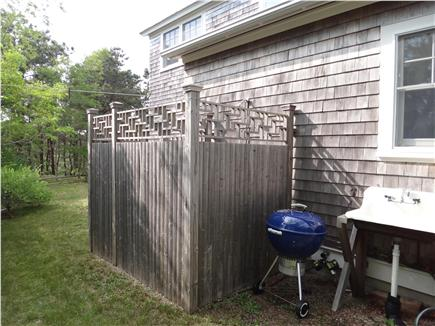 South Truro Cape Cod vacation rental - Outdoor shower is a treat after the beach.