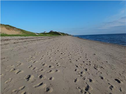 South Truro Cape Cod vacation rental - Fisher Beach is long, wide, unpopulated and very swimmable.