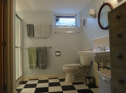 South Truro Cape Cod vacation rental - 4th en suite bathroom has shower.