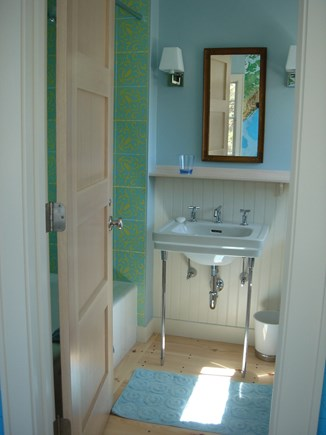 South Truro Cape Cod vacation rental - 3rd en suite bathroom has tub/shower
