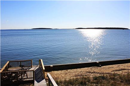 Wellfleet Cape Cod vacation rental - Lower deck