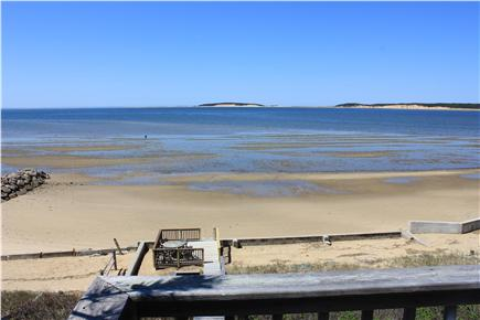 Wellfleet Cape Cod vacation rental - The beach at low tide