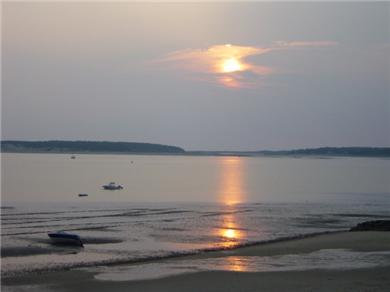 Wellfleet Cape Cod vacation rental - Sunset at the beach