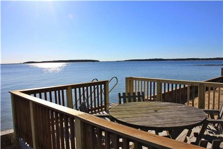 Wellfleet Cape Cod vacation rental - Two levels of decks