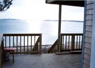 Wellfleet Cape Cod vacation rental - Water view from deck