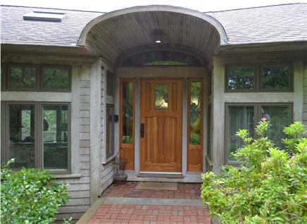 Truro Cape Cod vacation rental - Front Entrance