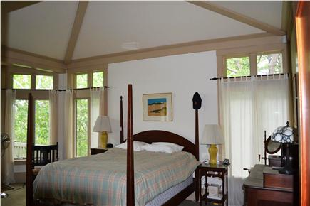 Truro Cape Cod vacation rental - Main level master bedroom with queen bed