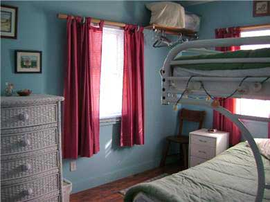 West Chatham Cape Cod vacation rental - Bedroom #3 with Full Bed and Twin bunk
