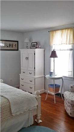 North Dennis Cape Cod vacation rental - 2nd bedroom on 1st floor - queen bed