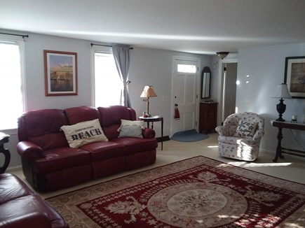 North Dennis Cape Cod vacation rental - Sunny, comfortable living room