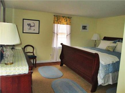 North Dennis Cape Cod vacation rental - Master bedroom - king sized bed view #2