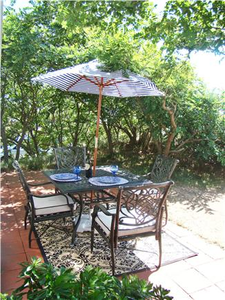 Eastham Cape Cod vacation rental - Shaded patio, a relaxing retreat