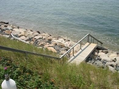 Eastham Cape Cod vacation rental - Private staircase to the beach-view at HIGH TIDE