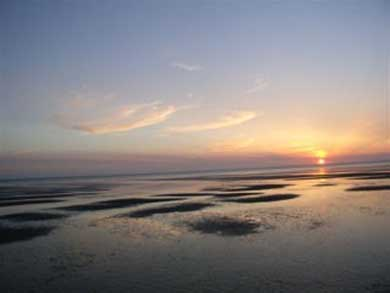 Eastham Cape Cod vacation rental - Another gorgeous sunset view from the cottage