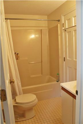 West Falmouth/Old Silver Beach Cape Cod vacation rental - Downstairs Bathroom