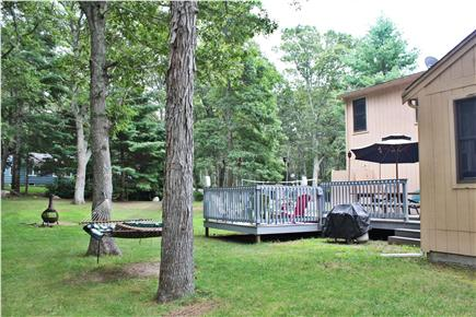 West Falmouth/Old Silver Beach Cape Cod vacation rental - Relax on the hammock or enjoy the spacious deck