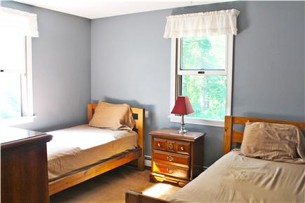 West Falmouth/Old Silver Beach Cape Cod vacation rental - Twin bedroom - great for the kids!