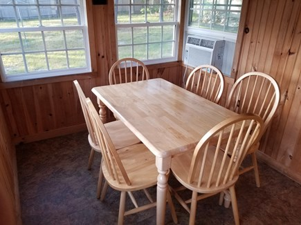 Dennis Port Cape Cod vacation rental - Cottage sun dining room - faces large yard