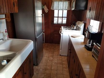 Dennis Port Cape Cod vacation rental - Cottage kitchen with stainless steel appliances