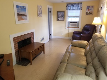 Dennis Port Cape Cod vacation rental - Cottage Living room with a large TV