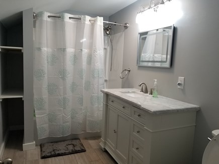 Dennis Port Cape Cod vacation rental - One of 2 1/2 Bathrooms in Main house - all redone