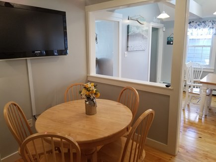 Dennis Port Cape Cod vacation rental - Breakfast nook to watch morning cartoons for the kids