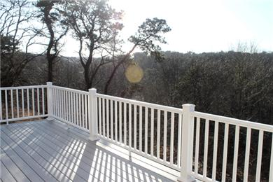 Chatham Cape Cod vacation rental - Winter Photo - New, High Deck Gives Gorgeous Views of Sunsets
