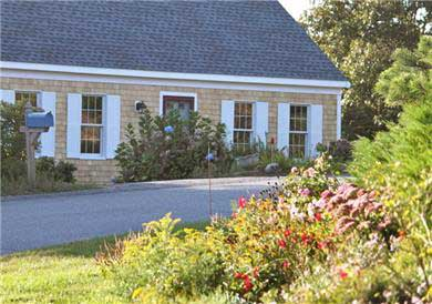 Chatham Cape Cod vacation rental - Home Is Gently Nestled Into The Land, Embraced w/Lush Vegetation