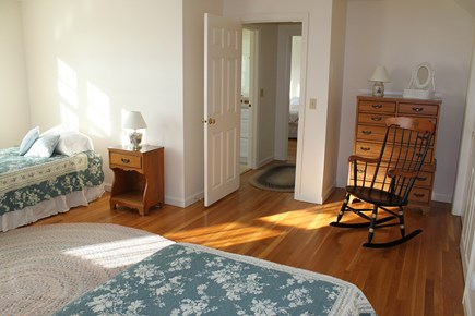 Chatham Cape Cod vacation rental - Spacious 3rd Bedroom on 2nd Fl. w/2 Twin Beds & Sitting Area